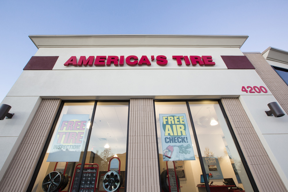 America's Tire | Palo Alto, CA | Hilbers Inc. | Retail General Contractor
