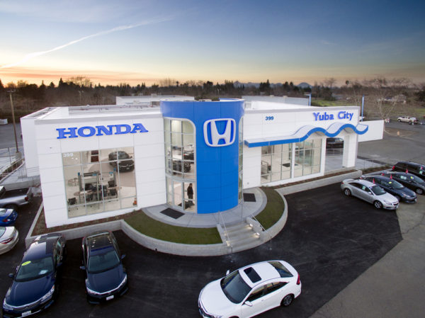 Yuba City Honda | Hilbers Inc. | Car Dealership Construction